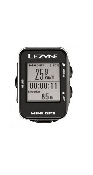 Lezyne Computer Mini GPS cykelcomputer sort